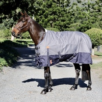 1200D Navy & Grey Waterproof Rug – with 250g Filling.